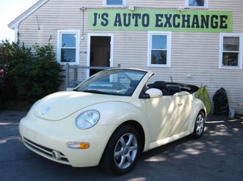 2004 Volkswagen New Beetle for sale at J's Auto Exchange in Derry NH