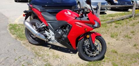 2013 Honda CBR500 ABS