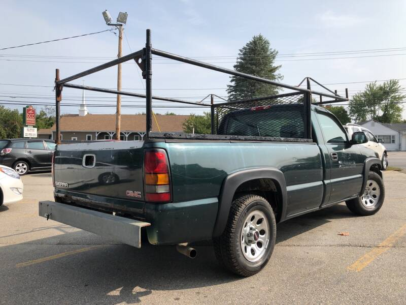 2006 GMC Sierra 1500 Work Truck 2dr Regular Cab 8 ft. LB - Derry NH