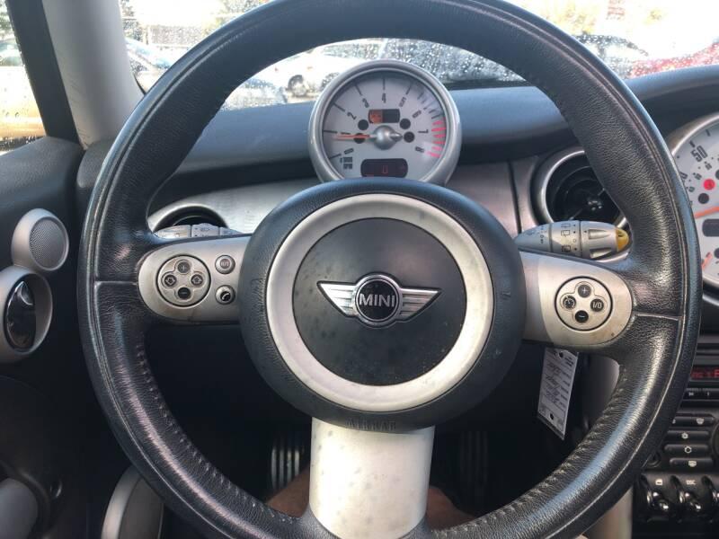 2006 MINI Cooper S 2dr Hatchback - Derry NH