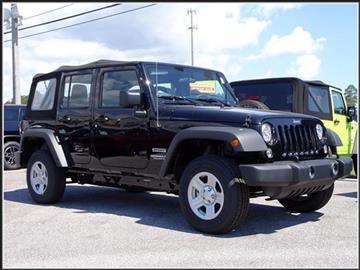 2017 Jeep Wrangler Unlimited for sale in Milton, FL