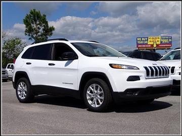 2017 Jeep Cherokee for sale in Milton, FL