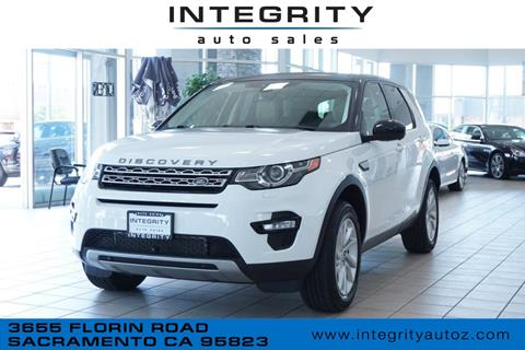 2016 Land Rover Discovery Sport for sale in Sacramento, CA
