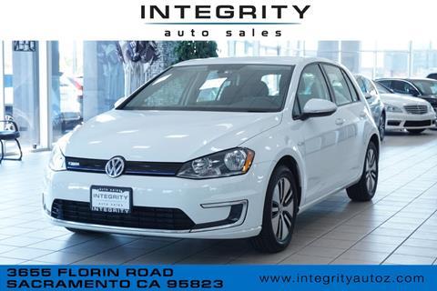 2016 Volkswagen e-Golf for sale in Sacramento, CA