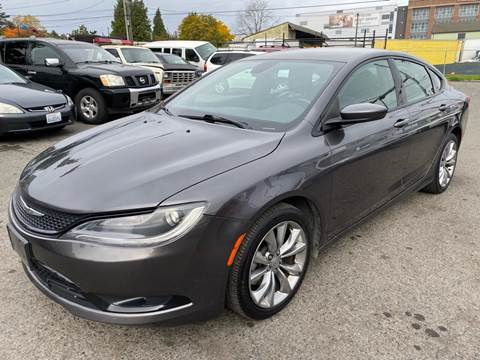 2015 Chrysler 200 for sale in Seattle, WA