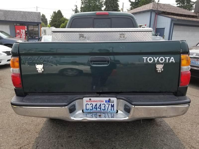 2003 Toyota Tacoma 4dr Double Cab PreRunner V6 Rwd SB - Seattle WA
