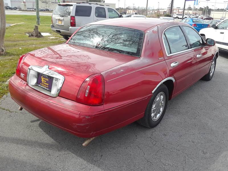 1998 Lincoln Town Car Signature 4dr Sedan In Greenville Nc East