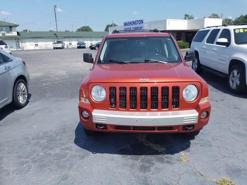 2010 jeep patriot 4x4 limited 4dr suv in greenville nc east carolina auto exchange. Black Bedroom Furniture Sets. Home Design Ideas