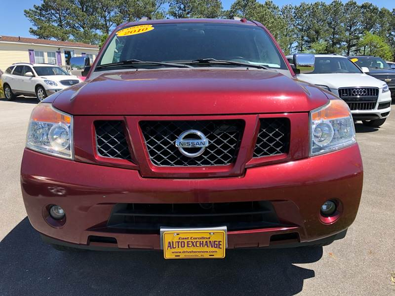 Nissan Greenville Nc >> 2010 Nissan Armada 4x4 Se 4dr Suv In Greenville Nc Greenville