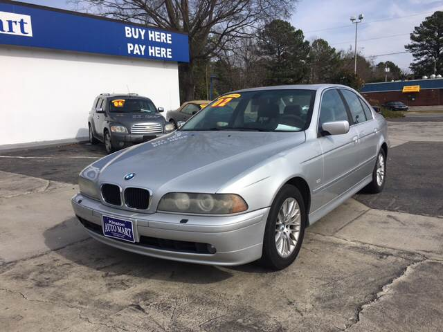 Buy Here Pay Here Greenville Nc >> 2002 Bmw 5 Series 530i 4dr Sedan In Greenville NC - East Carolina Auto Exchange