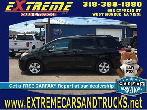 Used toyota sienna for sale in louisiana for Extreme motors monroe la