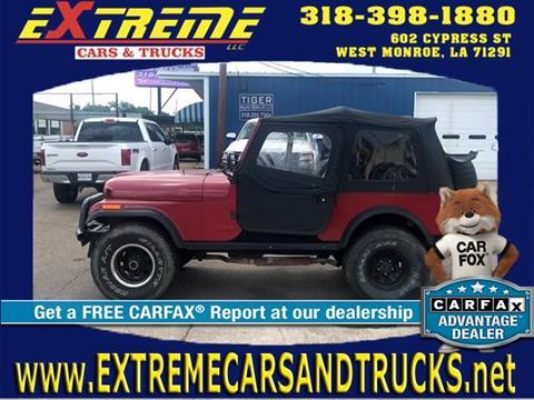 1981 Jeep CJ-7 for sale in West Monroe, LA