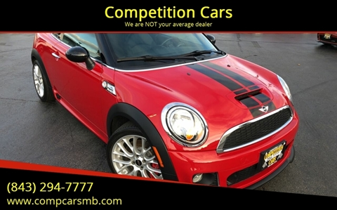 2014 MINI Coupe for sale in Myrtle Beach, SC