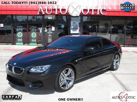 2014 BMW M6 for sale in Sarasota FL