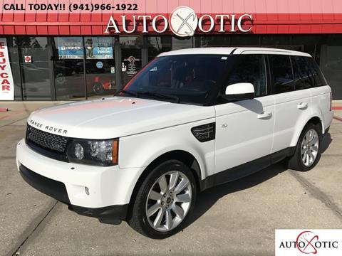 2013 Land Rover Range Rover Sport for sale in Sarasota FL