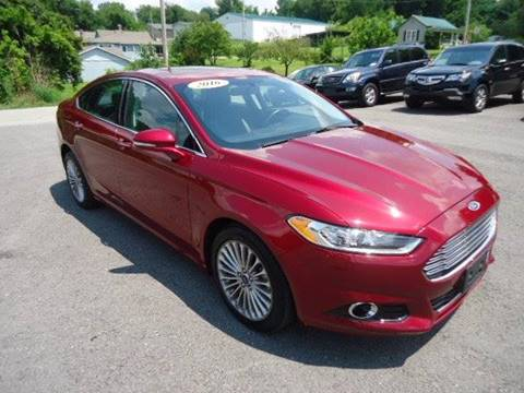 2016 Ford Fusion for sale in Ferguson, KY
