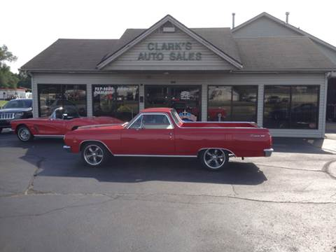 1965 Chevrolet El Camino for sale at Clarks Auto Sales in Middletown OH