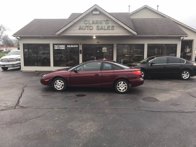 2002 Saturn S Series Sc1 3dr Coupe In Middletown Oh Clarks Auto Sales