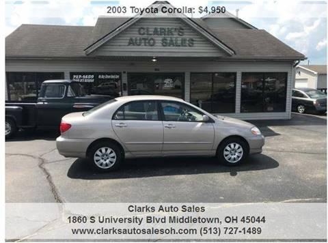 Used Cars Middletown Used Cars Cincinnati OH Dayton KY Clarks Auto Sales - 98 acura rl for sale