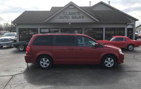 2012 Dodge Grand Caravan for sale at Clarks Auto Sales in Middletown OH