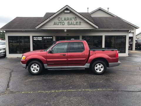 2001 Ford Explorer Sport Trac for sale at Clarks Auto Sales in Middletown OH