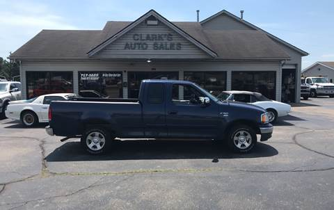 2002 Ford F-150 for sale at Clarks Auto Sales in Middletown OH