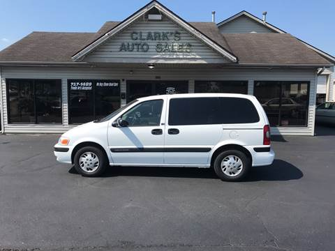 2003 Chevrolet Venture for sale at Clarks Auto Sales in Middletown OH