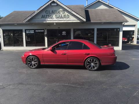 2003 Lincoln LS for sale at Clarks Auto Sales in Middletown OH