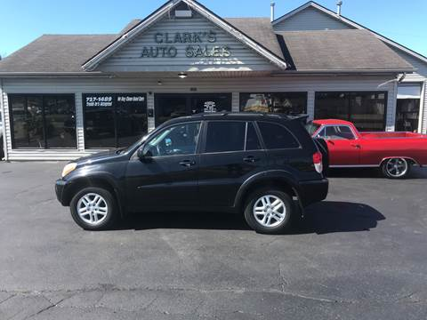 2002 Toyota RAV4 for sale at Clarks Auto Sales in Middletown OH
