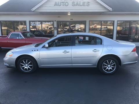 2006 Buick Lucerne for sale at Clarks Auto Sales in Middletown OH