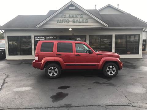 2008 Jeep Liberty for sale at Clarks Auto Sales in Middletown OH