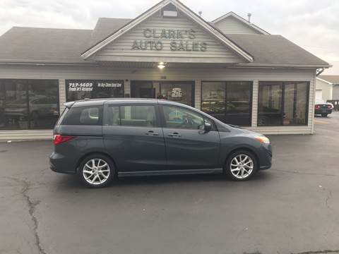 2012 Mazda MAZDA5 for sale at Clarks Auto Sales in Middletown OH
