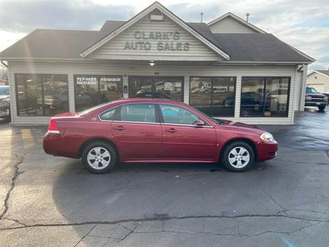 2009 Chevrolet Impala for sale at Clarks Auto Sales in Middletown OH