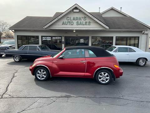 2005 Chrysler PT Cruiser for sale at Clarks Auto Sales in Middletown OH