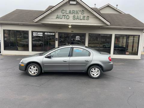 2005 Dodge Neon for sale at Clarks Auto Sales in Middletown OH