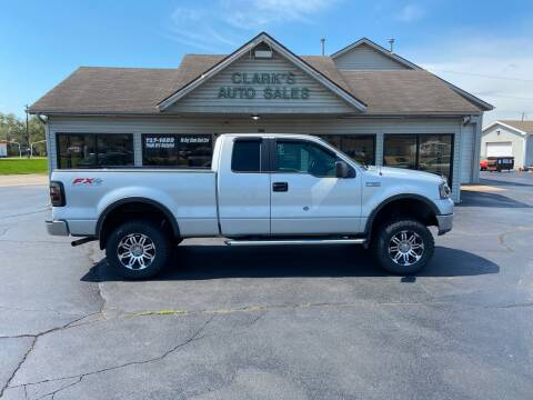 2005 Ford F-150 for sale at Clarks Auto Sales in Middletown OH