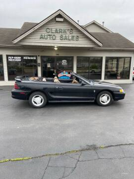 1995 Ford Mustang for sale at Clarks Auto Sales in Middletown OH