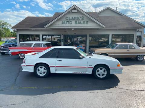 1987 Ford Mustang for sale at Clarks Auto Sales in Middletown OH