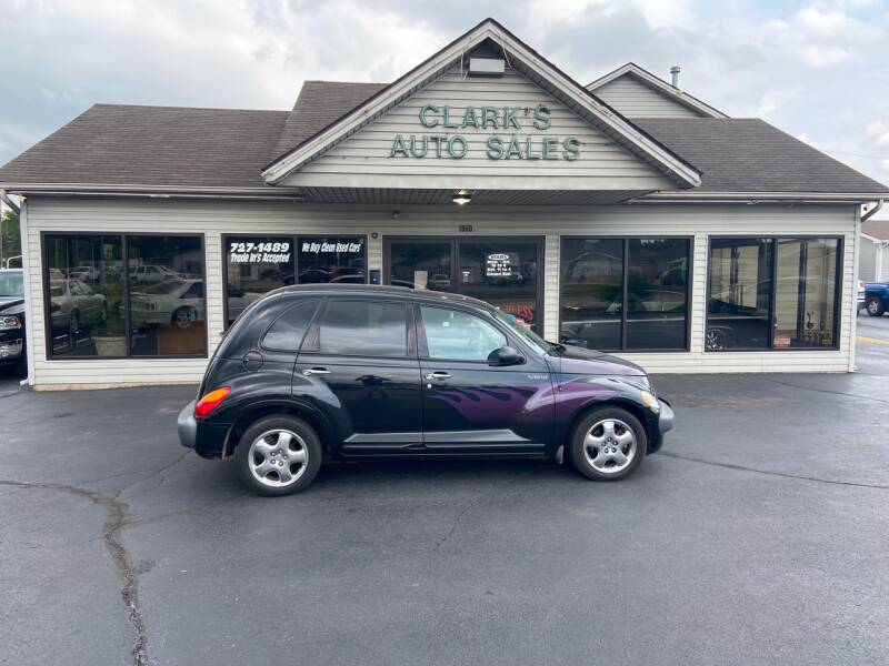 2002 Chrysler PT Cruiser for sale at Clarks Auto Sales in Middletown OH