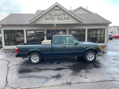2004 Ford Ranger for sale at Clarks Auto Sales in Middletown OH