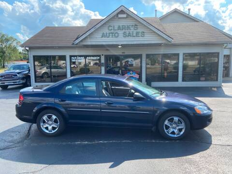 2002 Dodge Stratus for sale at Clarks Auto Sales in Middletown OH