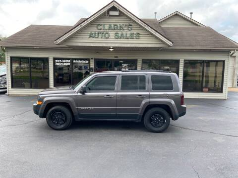 2016 Jeep Patriot for sale at Clarks Auto Sales in Middletown OH