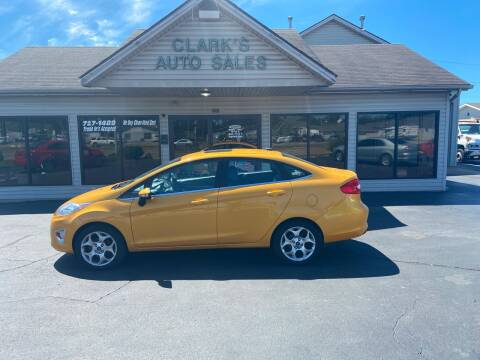 2013 Ford Fiesta for sale at Clarks Auto Sales in Middletown OH