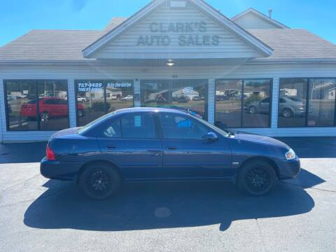 2006 Nissan Sentra for sale at Clarks Auto Sales in Middletown OH