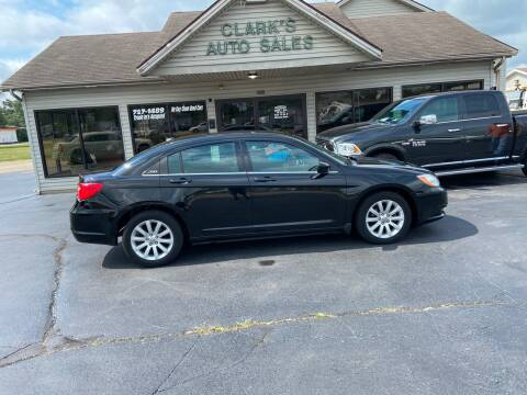 2012 Chrysler 200 for sale at Clarks Auto Sales in Middletown OH