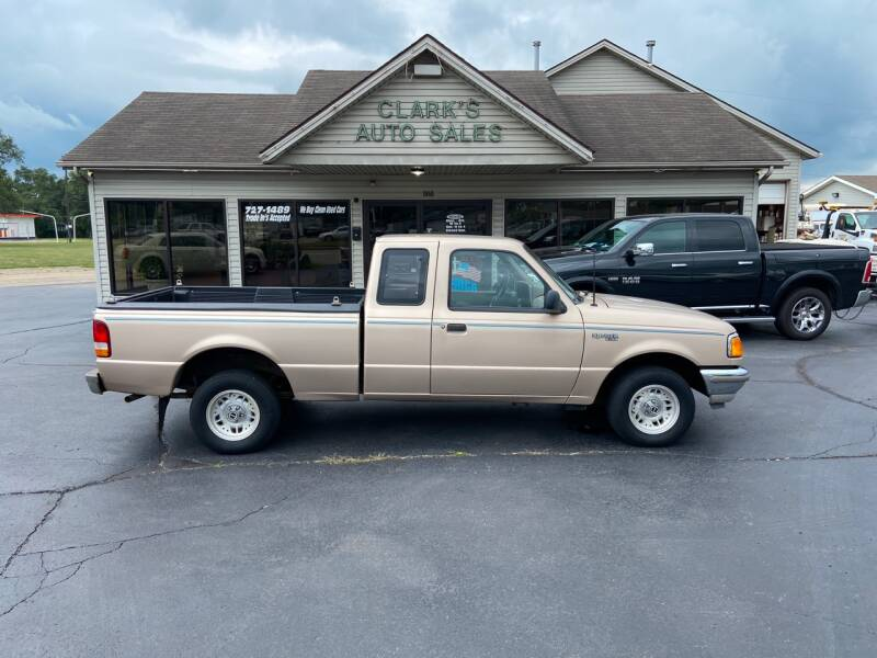 1993 Ford Ranger for sale at Clarks Auto Sales in Middletown OH