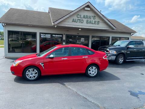 2008 Ford Focus for sale at Clarks Auto Sales in Middletown OH