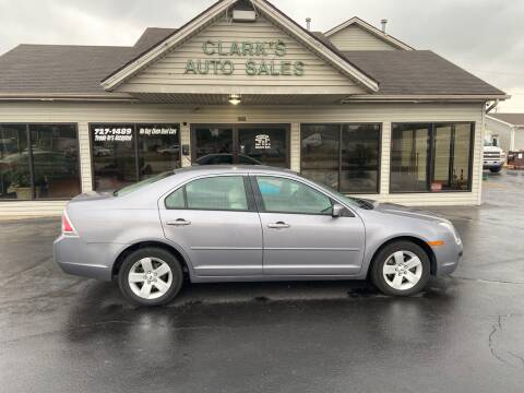 2007 Ford Fusion for sale at Clarks Auto Sales in Middletown OH