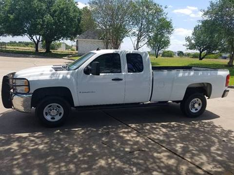 2008 Chevrolet Silverado 2500HD for sale at One Stop Car Sales in Houston TX