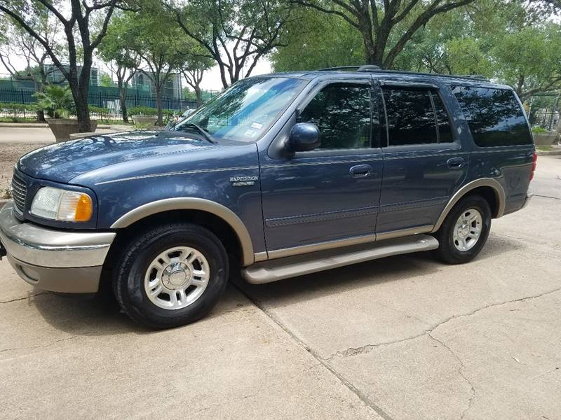 2002 Ford Expedition for sale at One Stop Car Sales in Houston TX